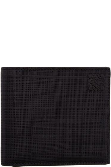 Loewe - Black Scratch Wallet