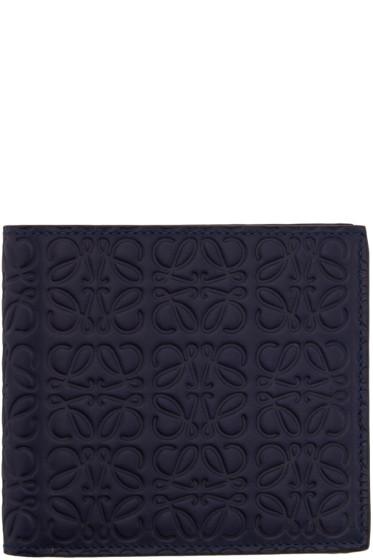 Loewe - Navy Anagram Wallet