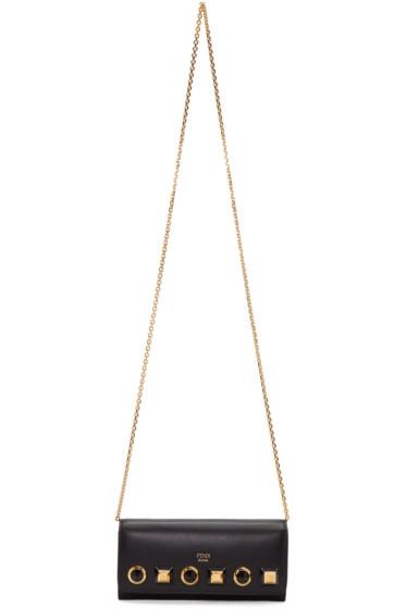 Fendi - Black Rainbow Chain Wallet Bag