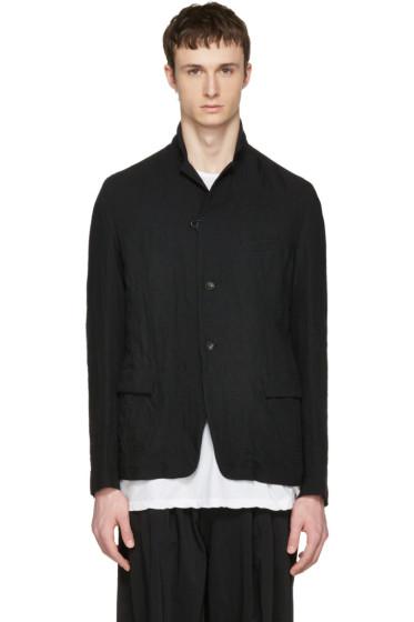 Attachment - Black Textured Blazer