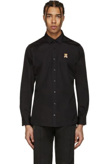 Moschino - Black Bear Patch Shirt