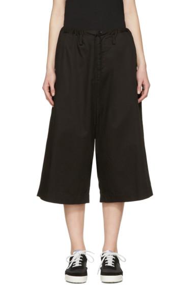 Y's - Black Sarouel Trousers