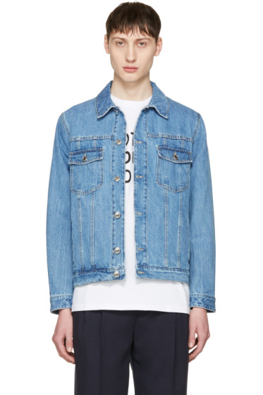 Éditions M.R  - Blue Denim Jacket