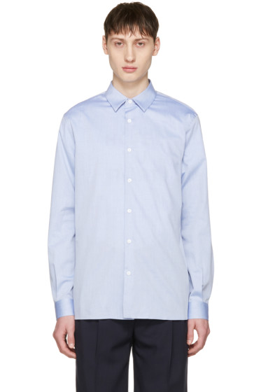 Éditions M.R  - Blue French Collar Shirt