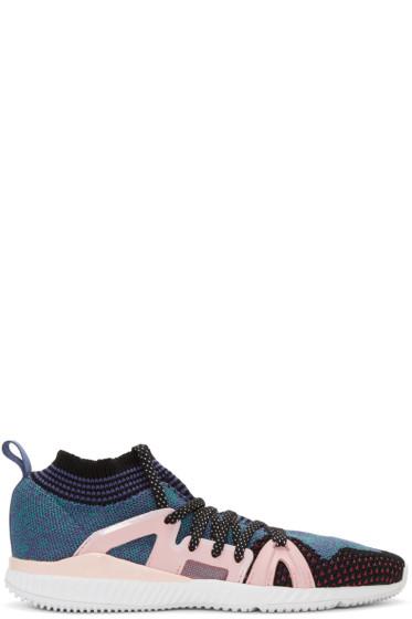 adidas by Stella McCartney - Pink & Purple CrazyTrain Bounce Sneakers