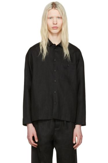 Fanmail - Black Collared Shirt
