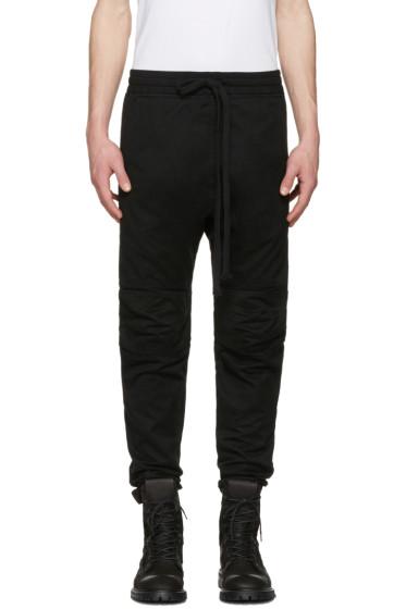 UEG - Black Biker Trousers