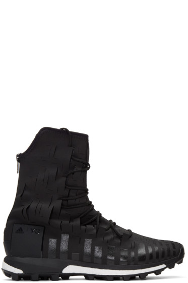 Y-3 SPORT - Black Evasion High-Top Sneakers