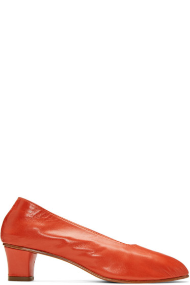 Martiniano - Red High Glove Heels