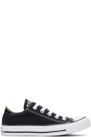 Converse - Black & White Classic Chuck Taylor All Star OX Sneakers