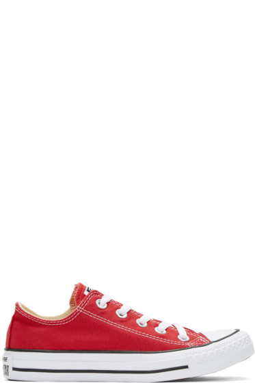 Converse - Red Classic Chuck Taylor All Star OX Sneakers