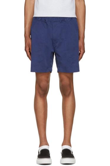 Ganryu - Blue Twill Shorts