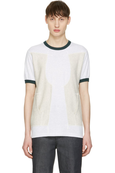 Ganryu - Green Pocket Ringer T-Shirt