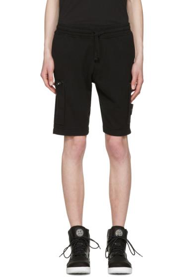 Stone Island - Black Bermuda Shorts