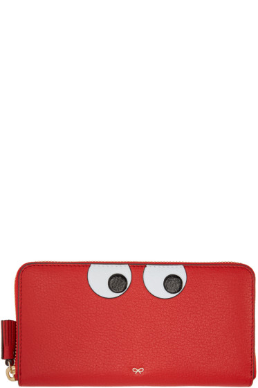 Anya Hindmarch - Red Large Eyes Wallet