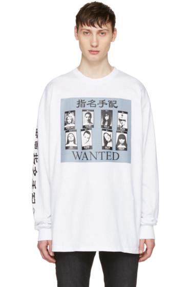 Richardson - White 'Wanted' T-Shirt