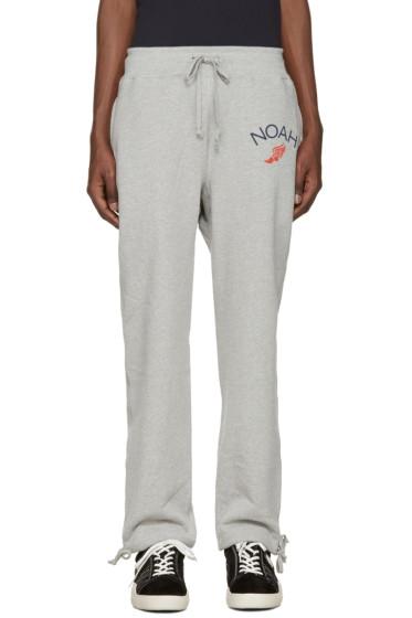 Noah NYC - Grey Wingfoot Lounge Pants