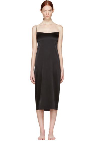 Land of Women - Black Circle Slip Dress
