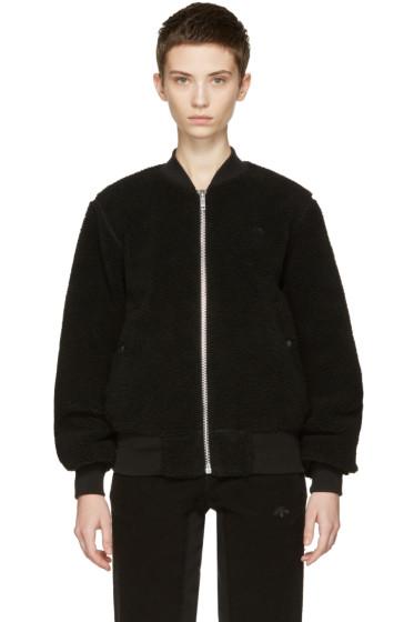 adidas Originals by Alexander Wang - Reversible Black Bomber Jacket
