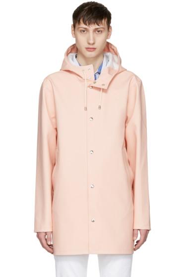 Stutterheim - Pink Stockholm Raincoat