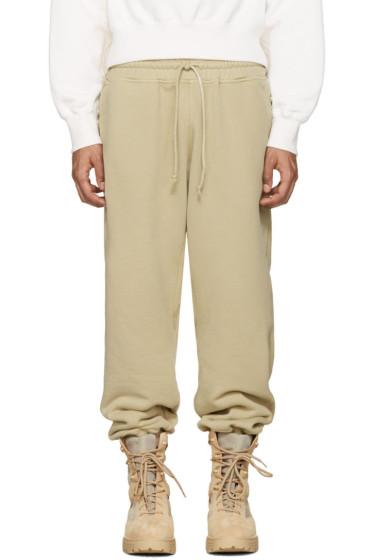 YEEZY - Beige Panelled Lounge Pants