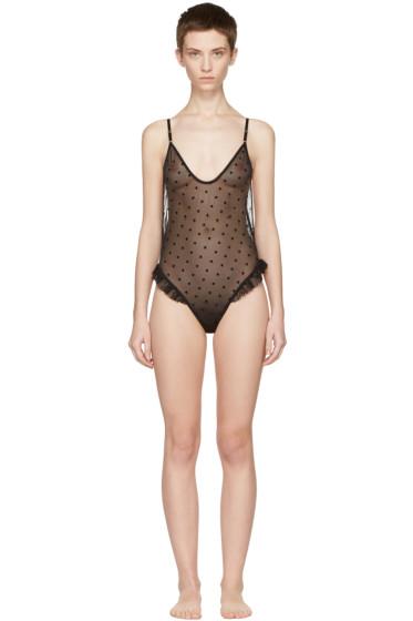 Le Petit Trou - Black Anabelle Bodysuit