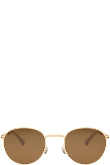 Mykita - Gold Jonte Sunglasses