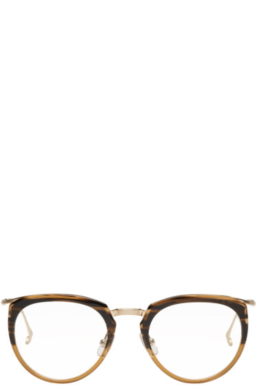 Issey Miyake Men - Brown Boston 1 Glasses