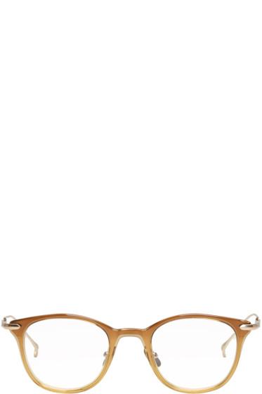 Issey Miyake Men - Brown Wellington 2 Glasses