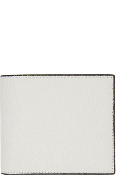 Valextra - Off-White 6CC Bifold Wallet