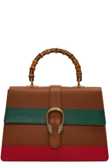 Gucci - Tricolor Large Dionysus Bag