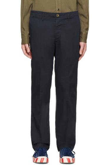 Visvim - Navy Slim-Fit Chinos