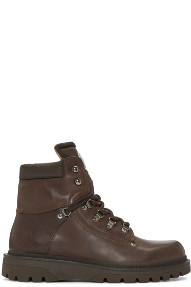 Moncler - Brown Egide Boots