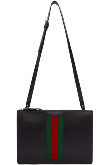 Gucci - Black Messenger Bag