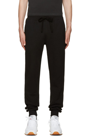 Naked & Famous Denim - Black Slim Jogger Lounge Pants