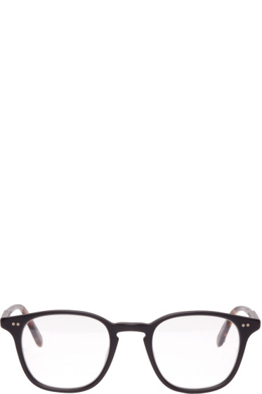 Garrett Leight - Black Clark Glasses