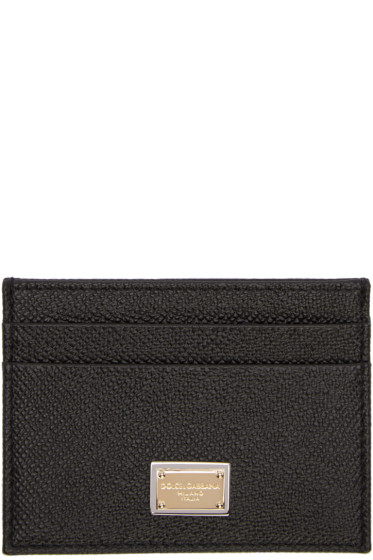 Dolce & Gabbana - Black Logo Card Holder