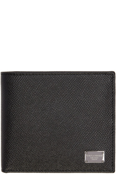 Dolce & Gabbana - Black Leather Wallet