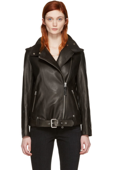 Mackage - Black Leather Selenia Jacket