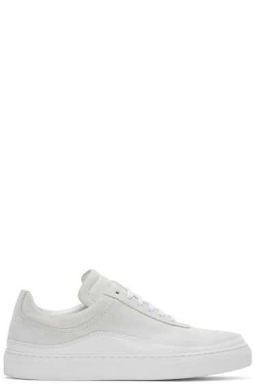 Public School - White Leather Braeburn Sneakers