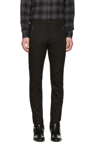 Diesel Black Gold - Black Skinny Zip Trousers