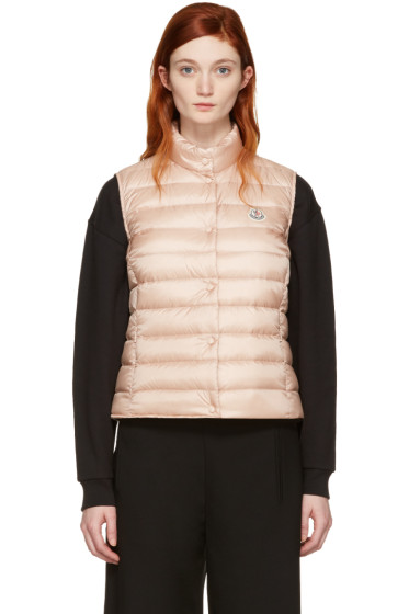 Moncler - Pink Down Liane Vest