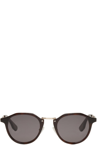 McQ Alexander McQueen - Black Oxford Sunglasses