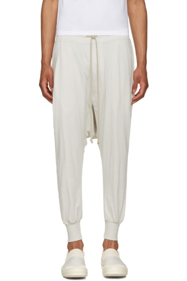 Rick Owens Drkshdw - Off-White Prisoner Drawstring Lounge Pants