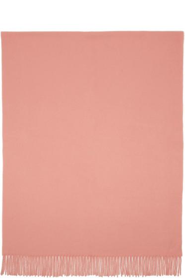 Acne Studios - Pink Canada Wide Scarf