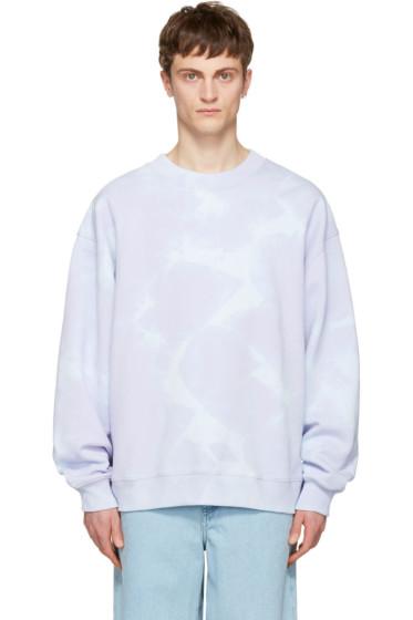 Acne Studios - Purple Yana Bleach Sweatshirt