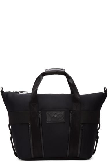 Y-3 - Black Neoprene Qasa Gym Bag