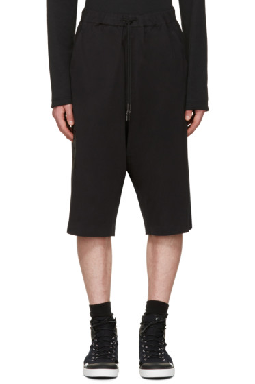 Y-3 - Black Skylight Shorts