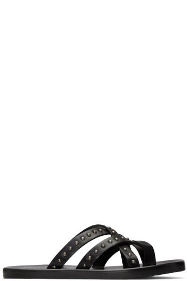 Dsquared2 - Black Studded Sandals