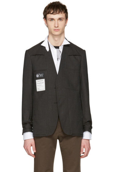 Maison Margiela - Brown Re-Edition Blazer
